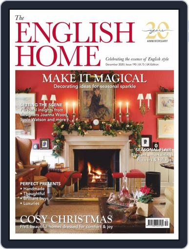 The English Home December 1st, 2020 Digital Back Issue Cover