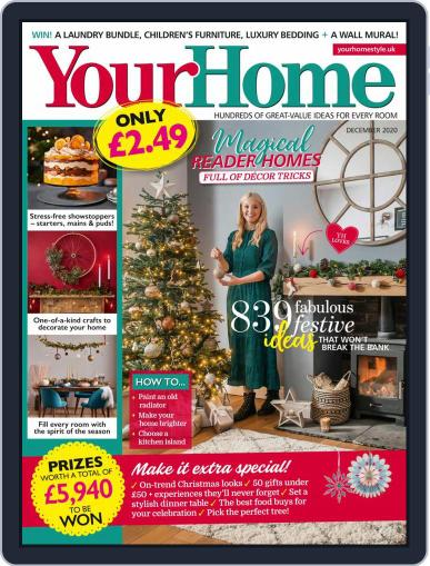Your Home December 1st, 2020 Digital Back Issue Cover