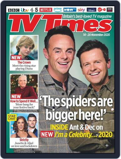 TV Times November 14th, 2020 Digital Back Issue Cover