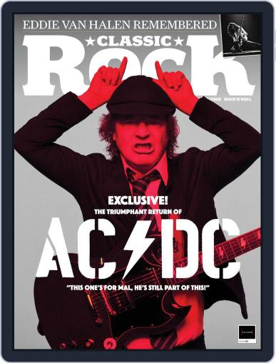 Classic Rock December 1st, 2020 Digital Back Issue Cover
