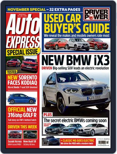 Auto Express (Digital) November 4th, 2020 Issue Cover