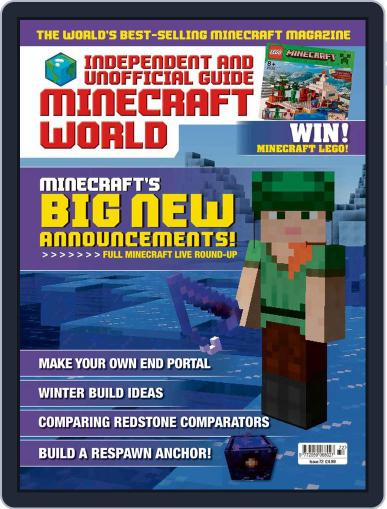 Minecraft World (Digital) October 29th, 2020 Issue Cover