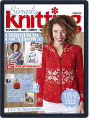 Simply Knitting (Digital) Subscription December 1st, 2020 Issue