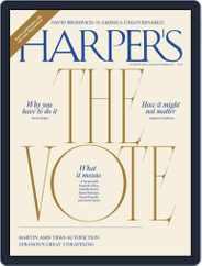 Harper's (Digital) Subscription November 1st, 2020 Issue