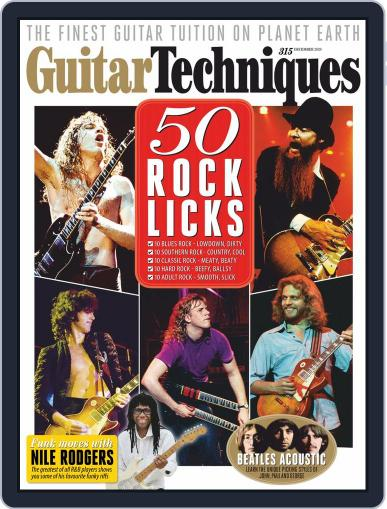 Guitar Techniques (Digital) December 1st, 2020 Issue Cover