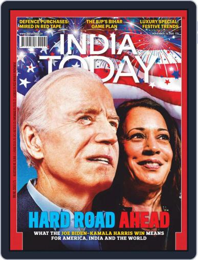 India Today (Digital) November 16th, 2020 Issue Cover