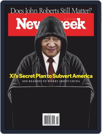 Newsweek (Digital) November 6th, 2020 Issue Cover