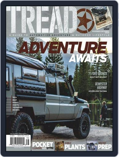 TREAD November 1st, 2020 Digital Back Issue Cover