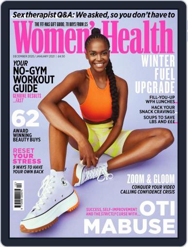 Women's Health UK (Digital) December 1st, 2020 Issue Cover