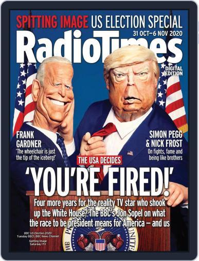 Radio Times October 31st, 2020 Digital Back Issue Cover