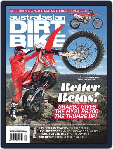 Australasian Dirt Bike (Digital) December 1st, 2020 Issue Cover