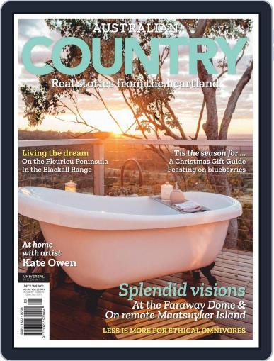 Australian Country (Digital) November 1st, 2020 Issue Cover