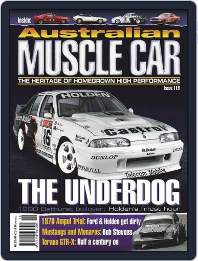 Australian Muscle Car October 1st, 2020 Digital Back Issue Cover