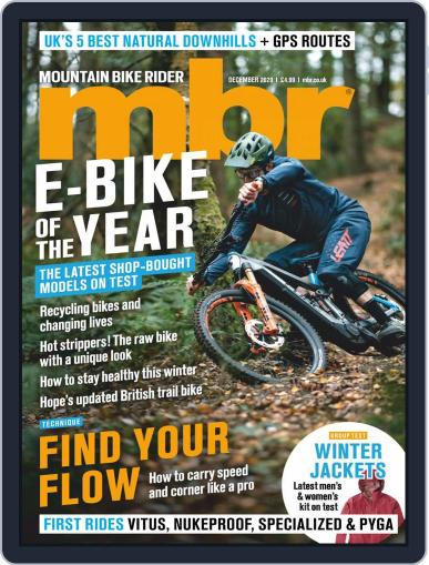Mountain Bike Rider (Digital) December 1st, 2020 Issue Cover