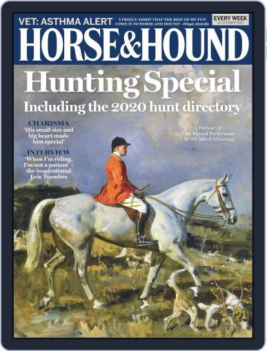 Horse & Hound (Digital) October 22nd, 2020 Issue Cover