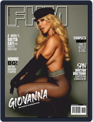 FHM Australia (Digital) November 1st, 2020 Issue Cover