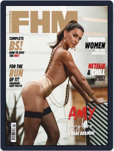 FHM US (Digital) November 1st, 2020 Issue Cover