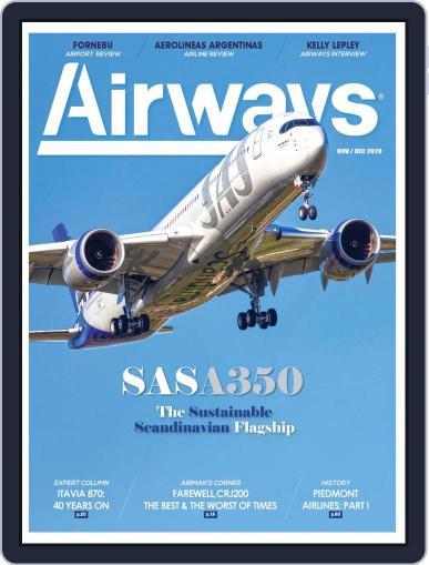 Airways November 1st, 2020 Digital Back Issue Cover