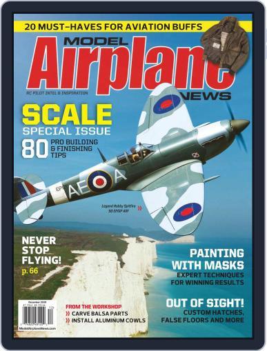 Model Airplane News December 1st, 2020 Digital Back Issue Cover