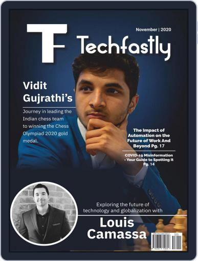 Techfastly (Digital) November 1st, 2020 Issue Cover