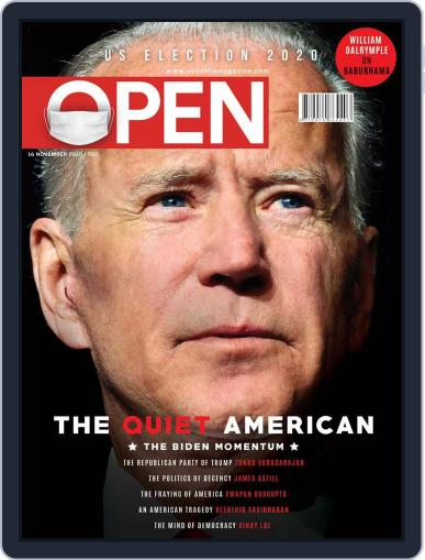 Open India November 6th, 2020 Digital Back Issue Cover