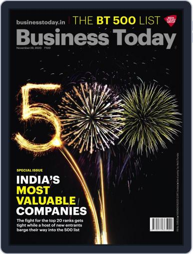 Business Today (Digital) November 29th, 2020 Issue Cover