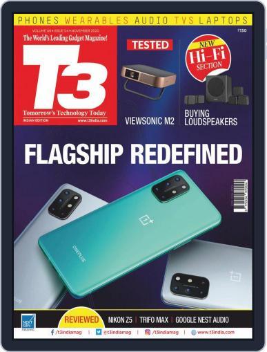 T3 India November 1st, 2020 Digital Back Issue Cover