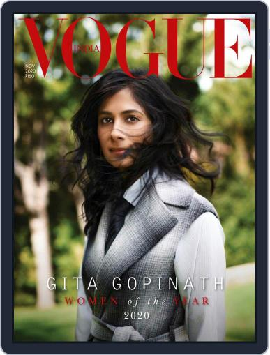 VOGUE India (Digital) November 1st, 2020 Issue Cover