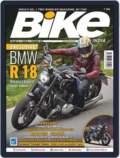 BIKE India (Digital) November 1st, 2020 Issue Cover