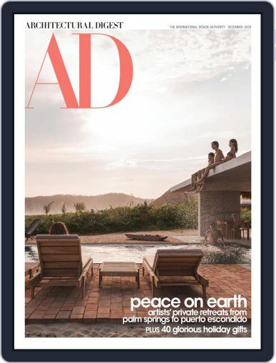 Architectural Digest (Digital) December 1st, 2020 Issue Cover