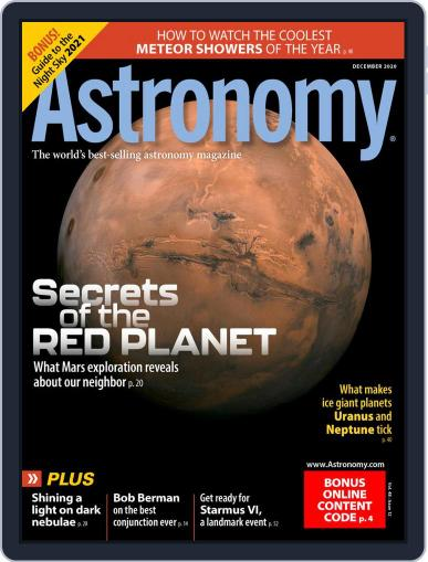 Astronomy (Digital) December 1st, 2020 Issue Cover
