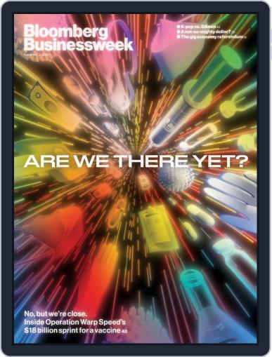 Bloomberg Businessweek-Asia Edition (Digital) November 2nd, 2020 Issue Cover