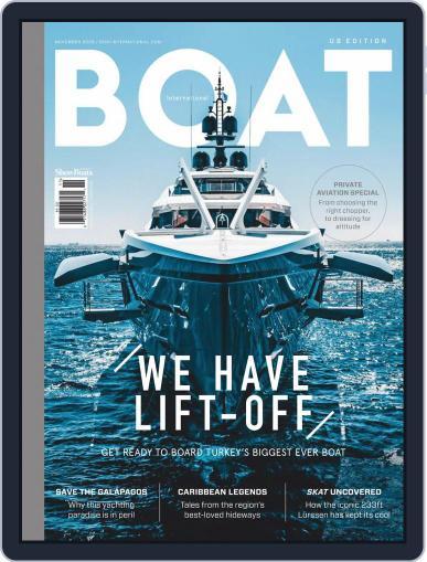 Boat International US Edition November 1st, 2020 Digital Back Issue Cover