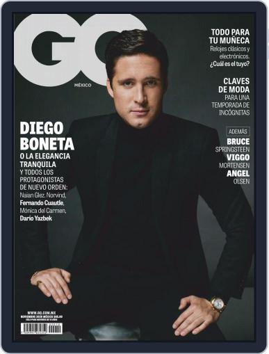 GQ Mexico (Digital) November 1st, 2020 Issue Cover