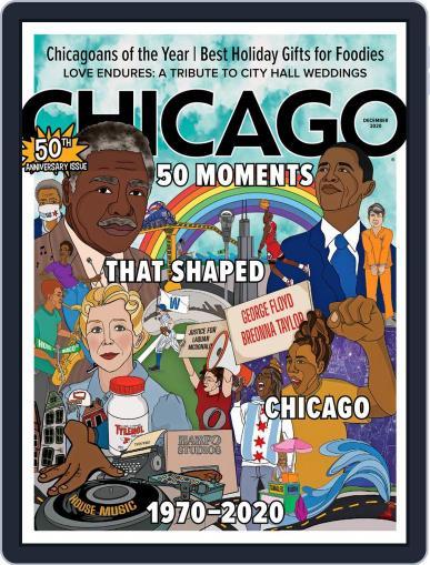 Chicago December 1st, 2020 Digital Back Issue Cover