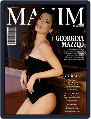 Maxim México (Digital) November 1st, 2020 Issue Cover