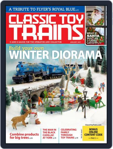 Classic Toy Trains January 1st, 2021 Digital Back Issue Cover