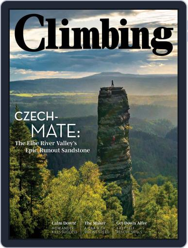 Climbing October 13th, 2020 Digital Back Issue Cover