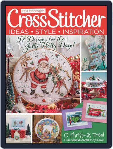 CrossStitcher December 1st, 2020 Digital Back Issue Cover