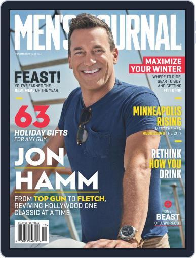 Men's Journal (Digital) November 1st, 2020 Issue Cover