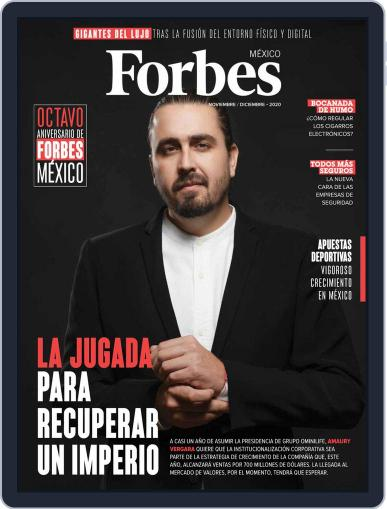 Forbes México (Digital) November 1st, 2020 Issue Cover