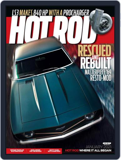 Hot Rod January 1st, 2021 Digital Back Issue Cover