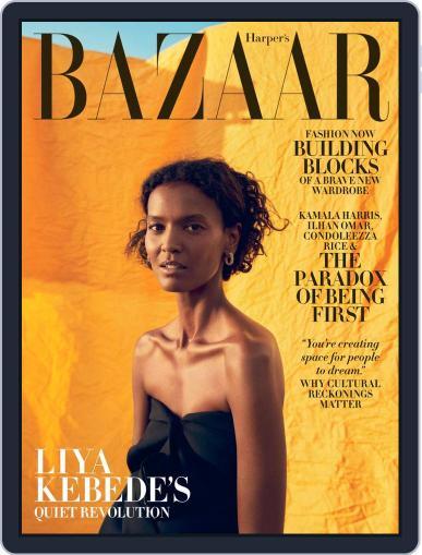 Harper's Bazaar (Digital) November 1st, 2020 Issue Cover