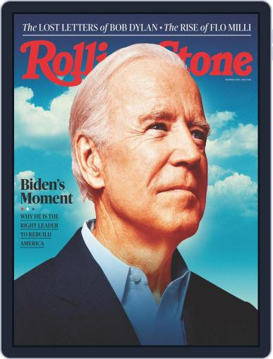 Rolling Stone November 1st, 2020 Digital Back Issue Cover