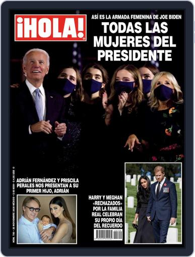 ¡Hola! Mexico (Digital) November 26th, 2020 Issue Cover
