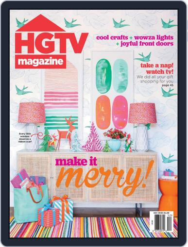Hgtv (Digital) December 1st, 2020 Issue Cover