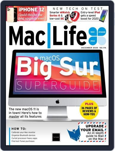 MacLife December 1st, 2020 Digital Back Issue Cover