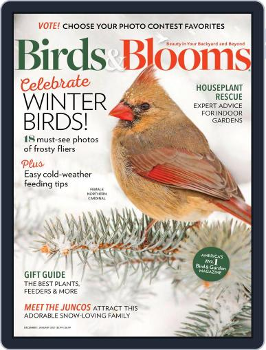 Birds & Blooms (Digital) December 1st, 2020 Issue Cover
