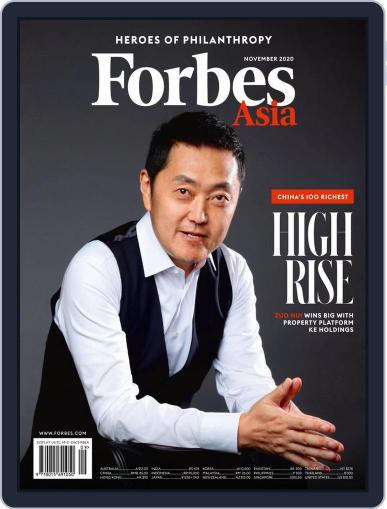 Forbes Asia November 1st, 2020 Digital Back Issue Cover