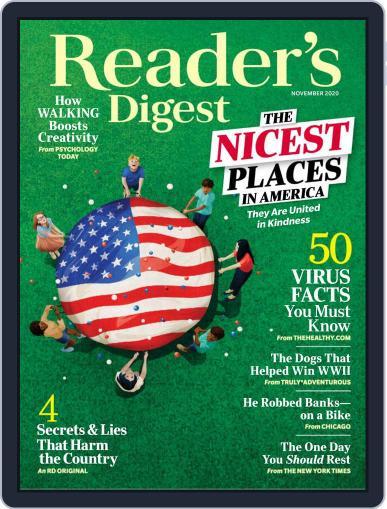 Reader's Digest (Digital) November 1st, 2020 Issue Cover